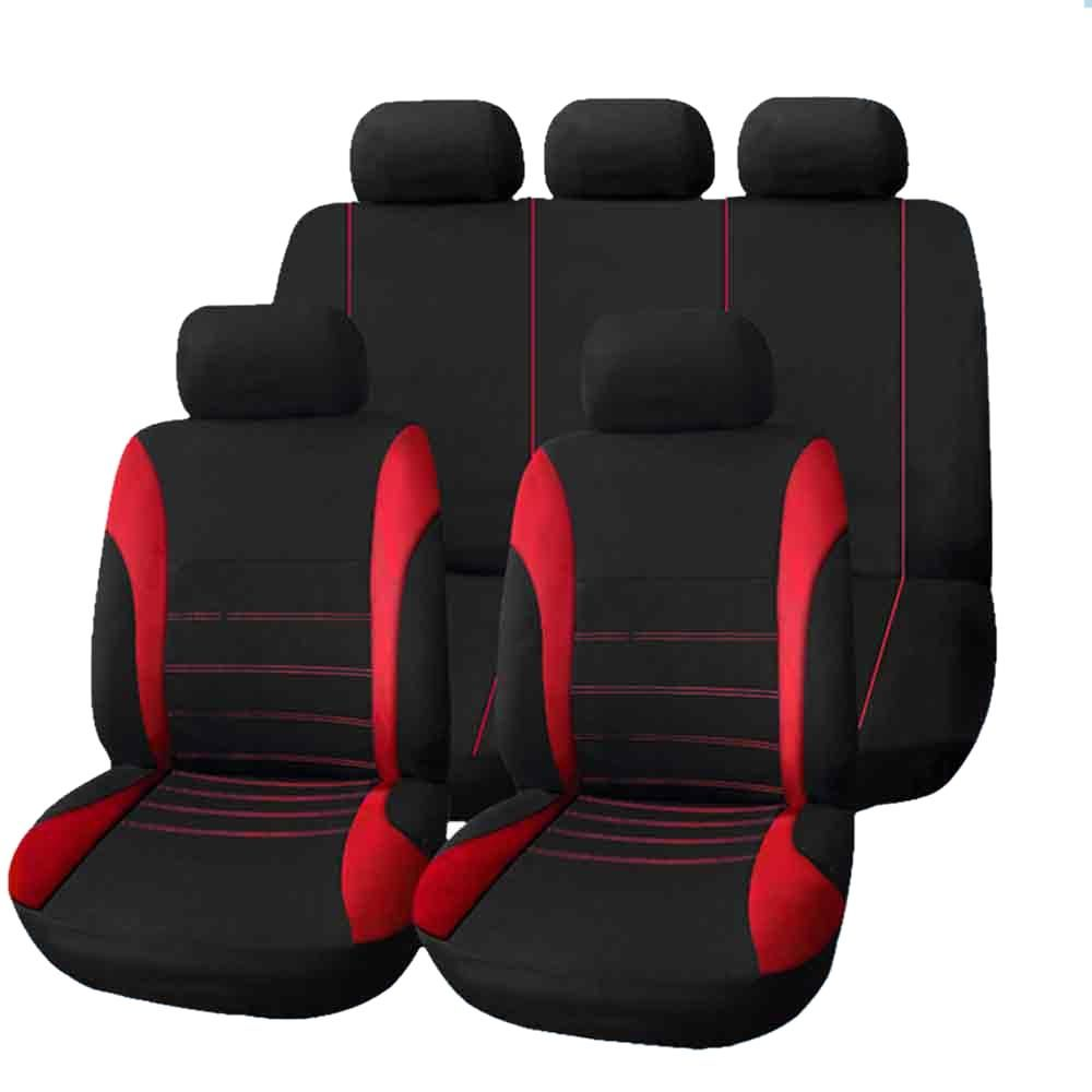 9 Set Auto Car SUV Seat Covers Full Styling Seat Cover for Interior Accessories