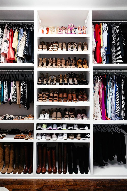 My Closet Reveal Bedroom Organization Closet Closet Organization Diy Shoe Organization Closet