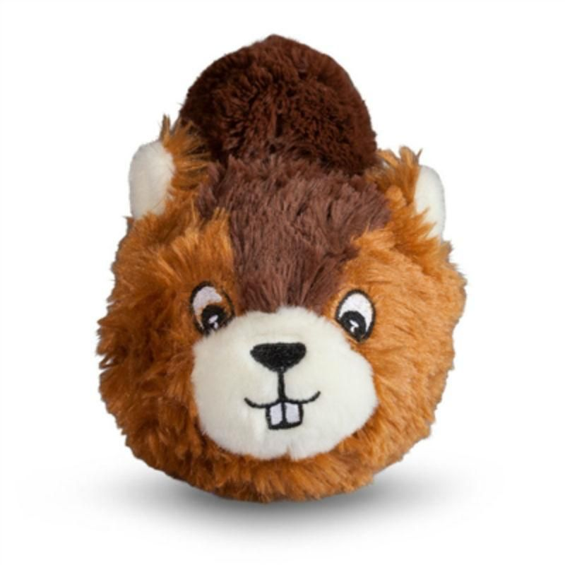Fabdog Country Critter Faballs Dog Toy Beaver Dog Items