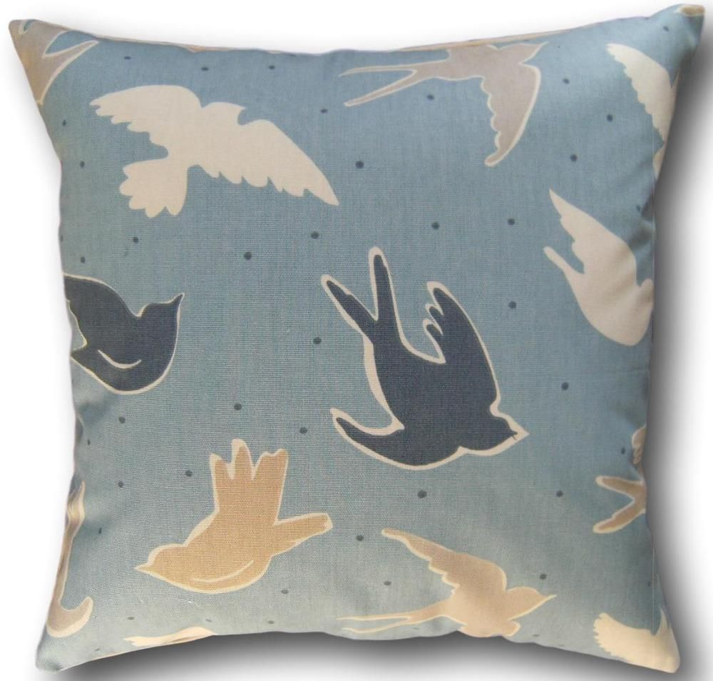 Details about cushion covers made with clarke and clarke seabirds