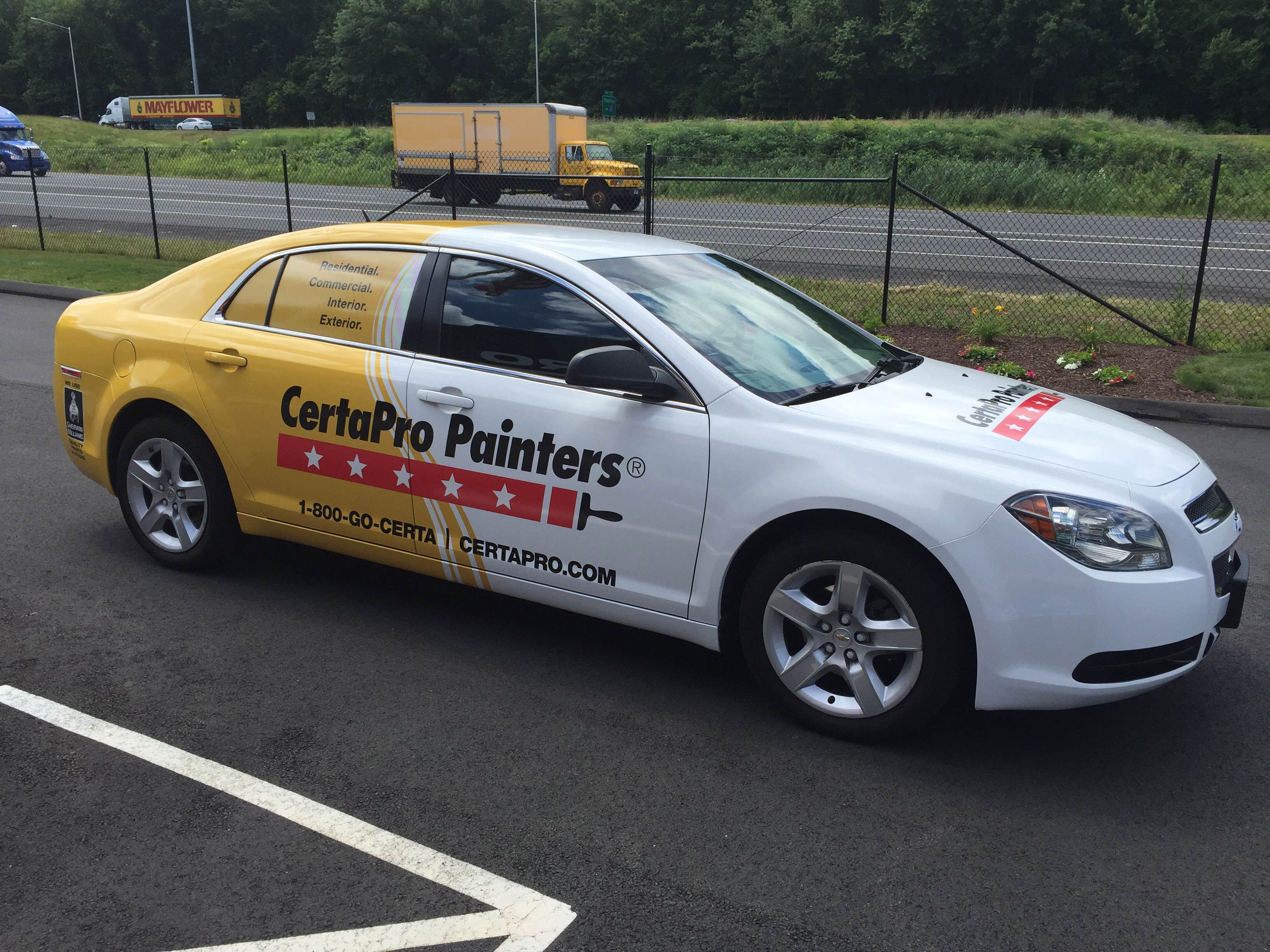 CertaPro Painters Vehicle Wraps Done By Sign Pro Inc