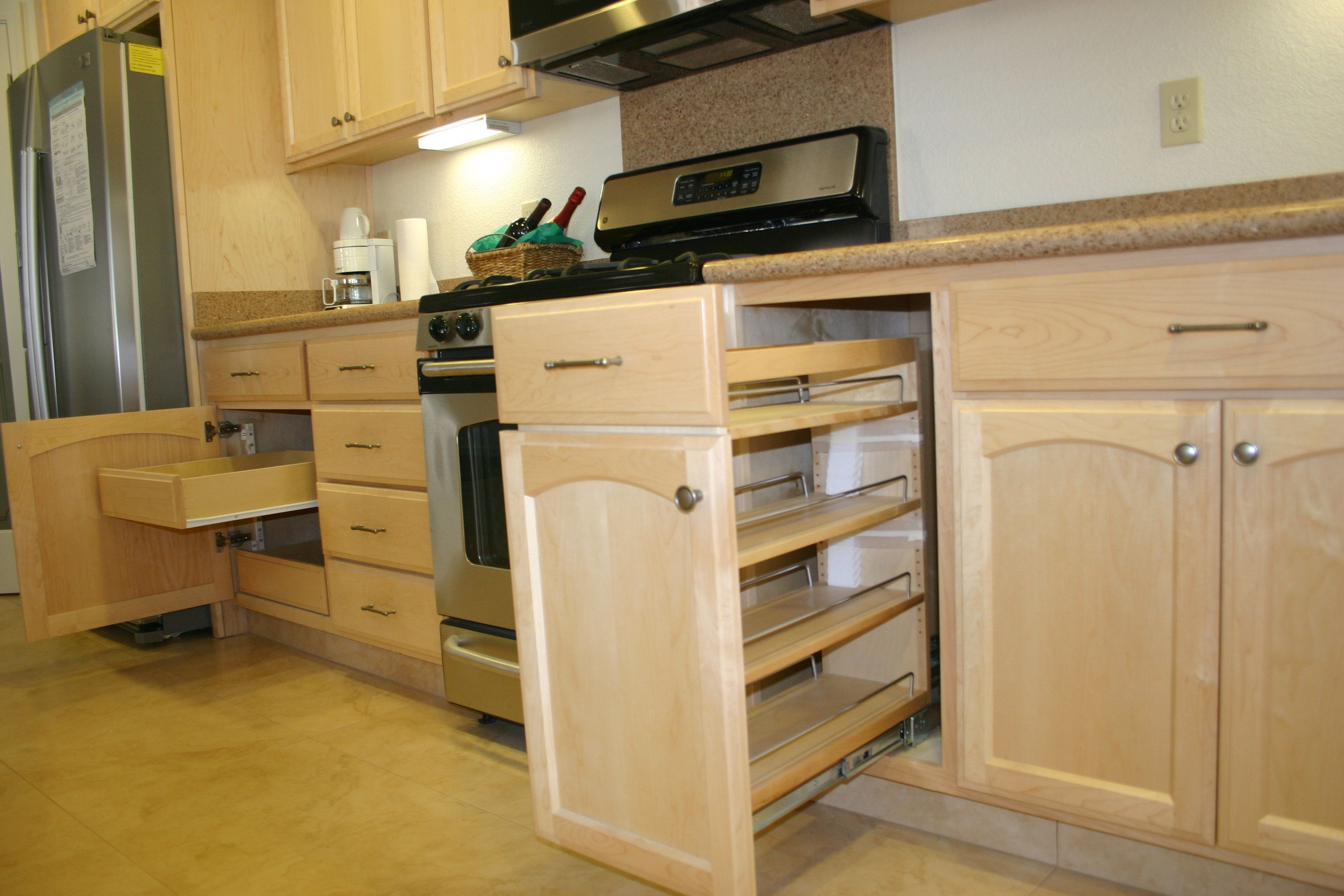 Pull Out Spice Cupboard | Base Cabinet Pull Out Spice Cabinet Base Cabinet  Pull Out Tray
