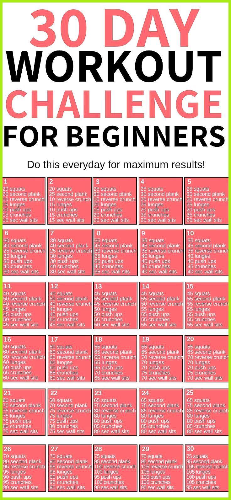 Diese 30-tägige Trainings-Herausforderung für Anfänger ist DIE BESTE! Ich bin so froh, dass ich das...