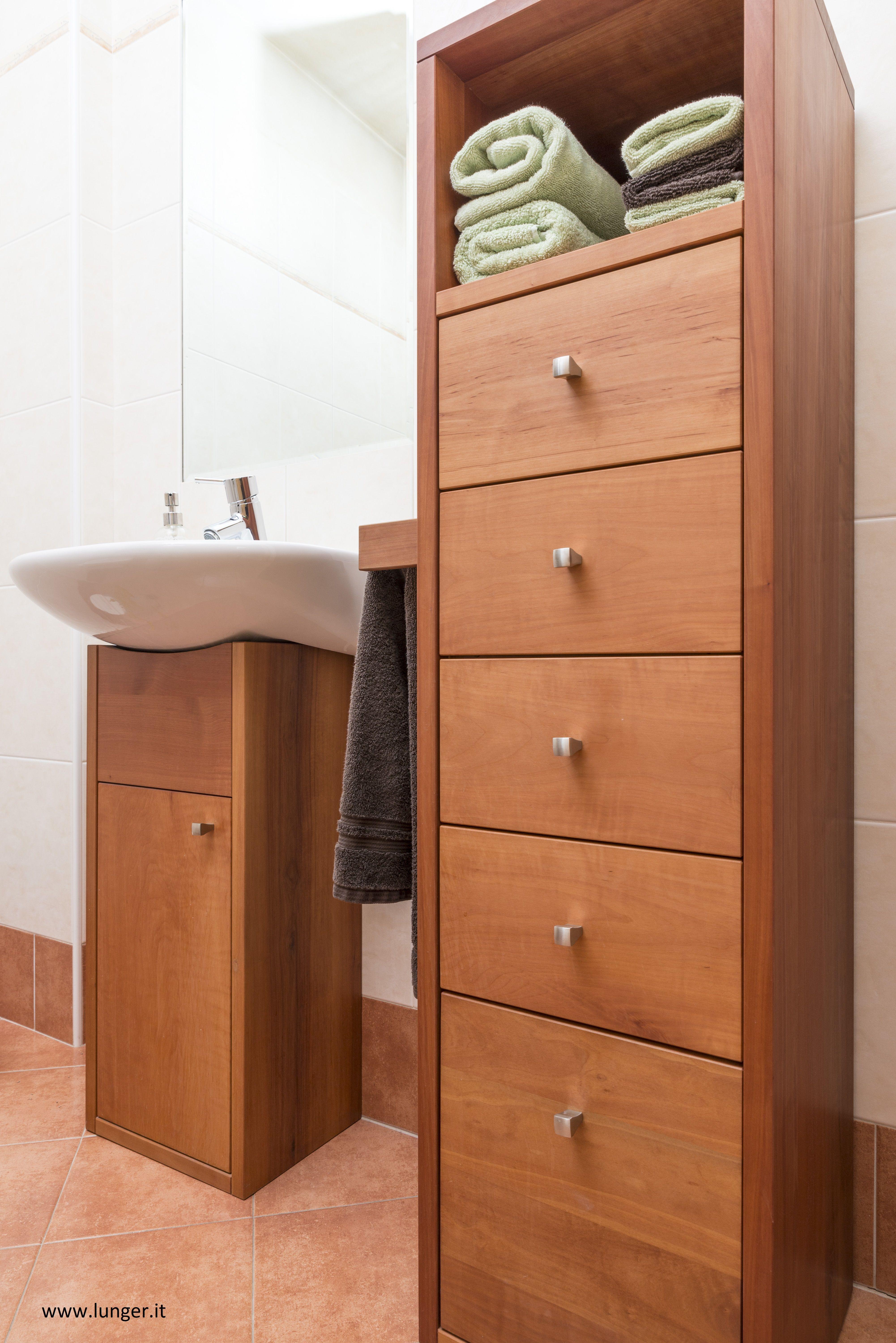 Tages Wc Möbel In Elsbeere Massiv In 2019 Badezimmer