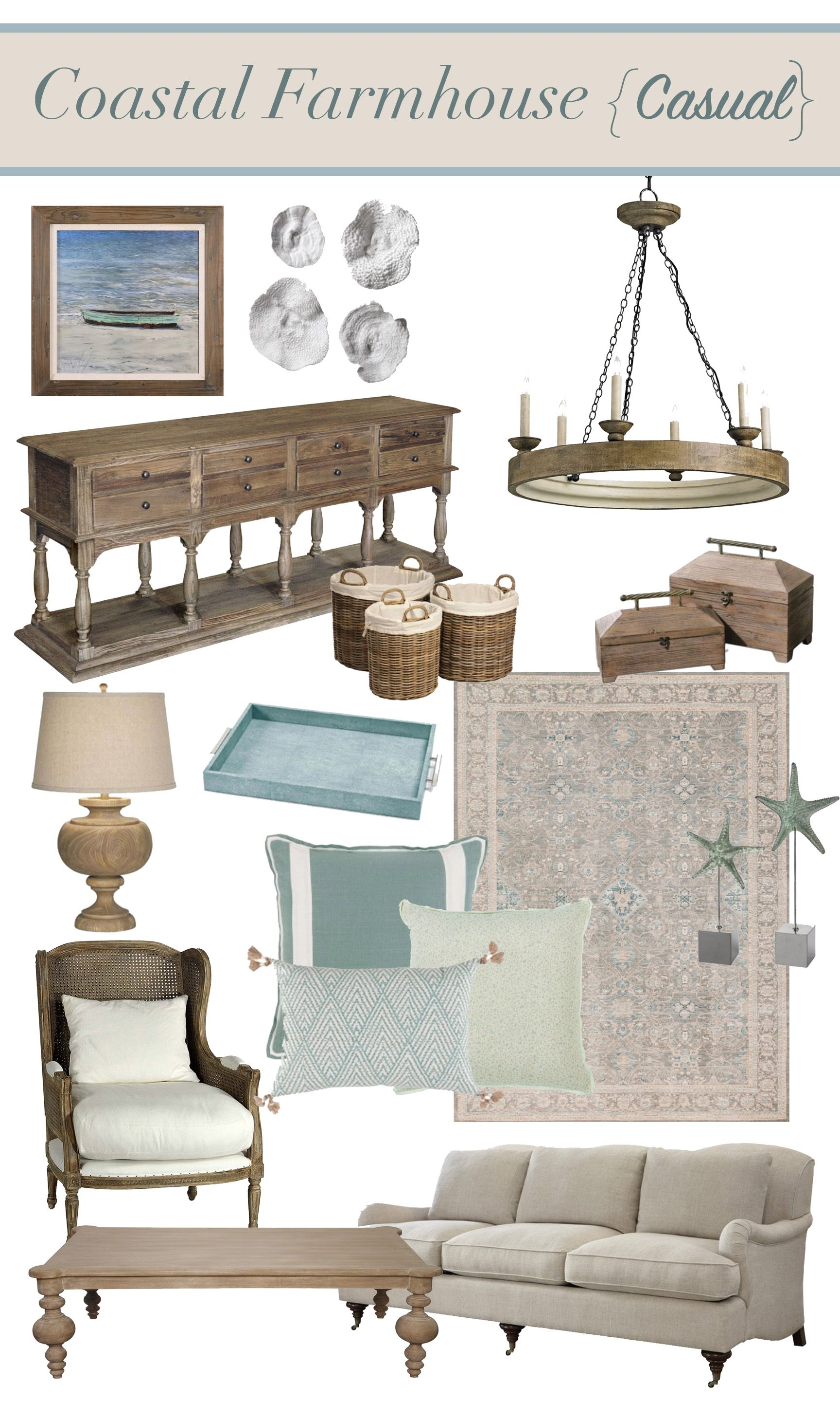 Photo of Coastal Farmhouse: Style Breakdown