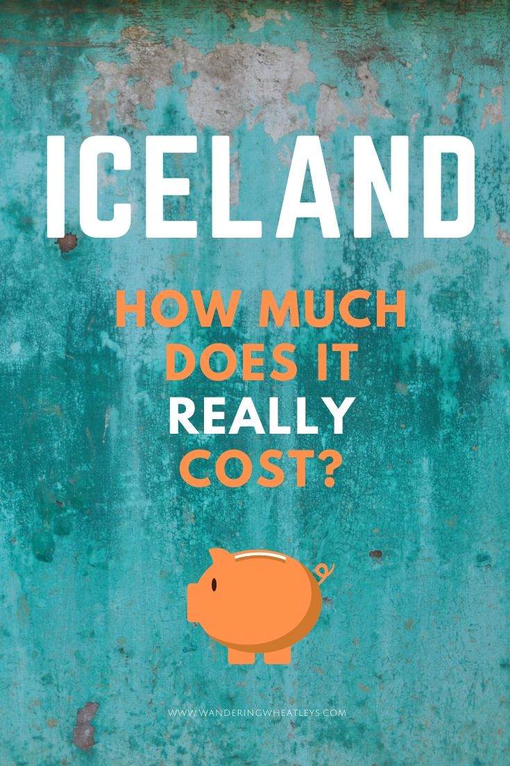 How Much to Budget for Iceland - Plus Money Saving Tips! Are you wondering how much does a trip to Iceland cost? Then read this article for the cost of camping, motorhome rental, food, alcohol, petrol and more in Iceland. Plus it includes lots of advice on how to save money in Iceland. - By Wandering Wheatleys (@wanderingwheatleys) #Iceland #Travel #TravelTips #BudgetTravel #Motorhome #Vanlife #Camping
