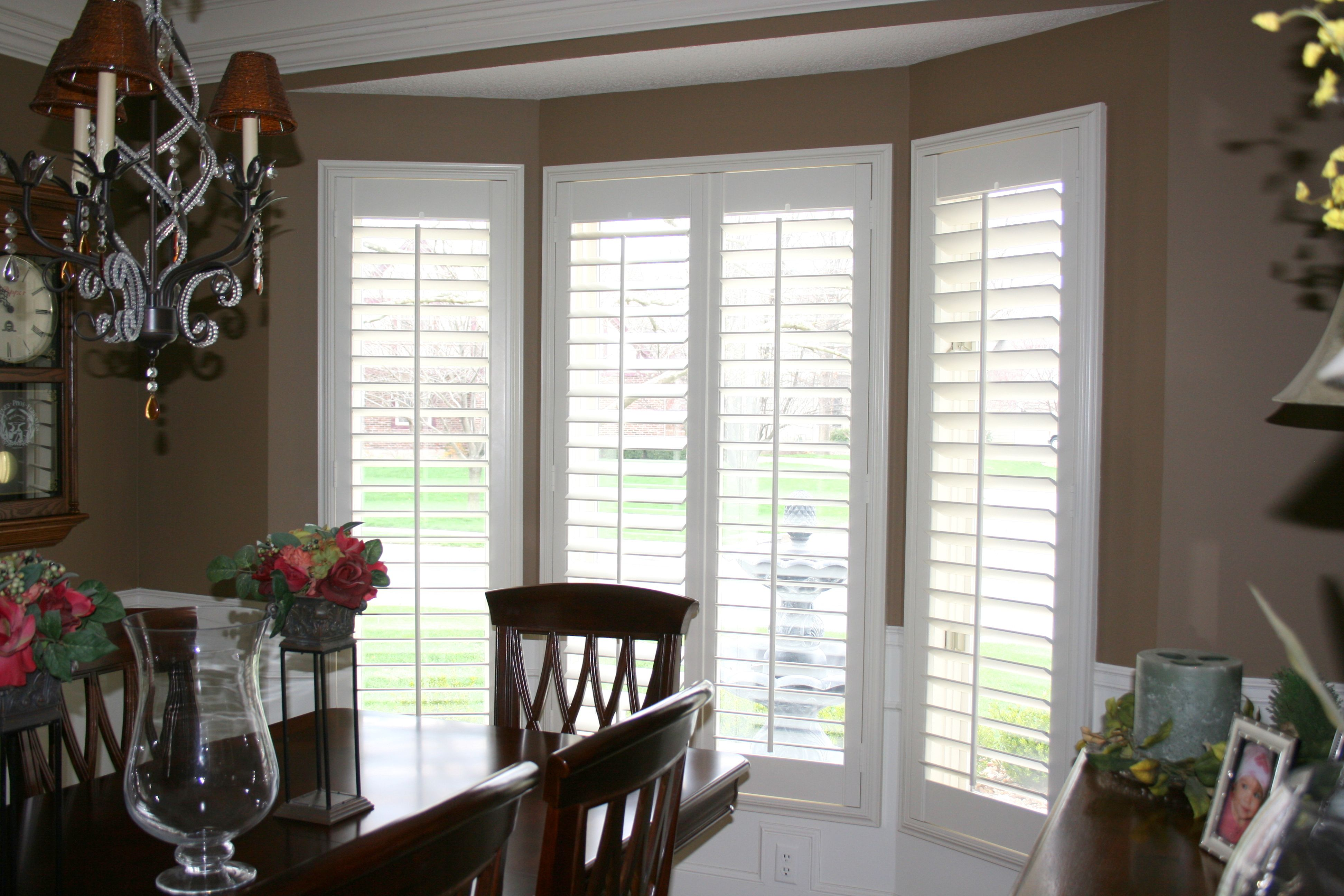 Plantation Shutters In The Dining Room My New House