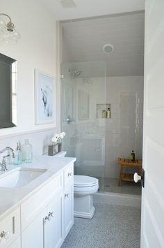 Small Narrow Master Bathroom Ideas Google Search Bathroom Remodel Master Small Master Bathroom Master Bathroom Decor