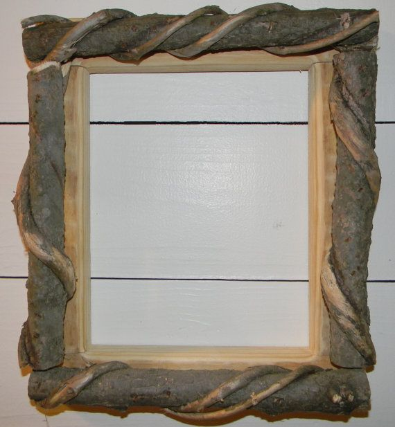 Rustic Picture Frame Cabin Wall Decor 8 x 10