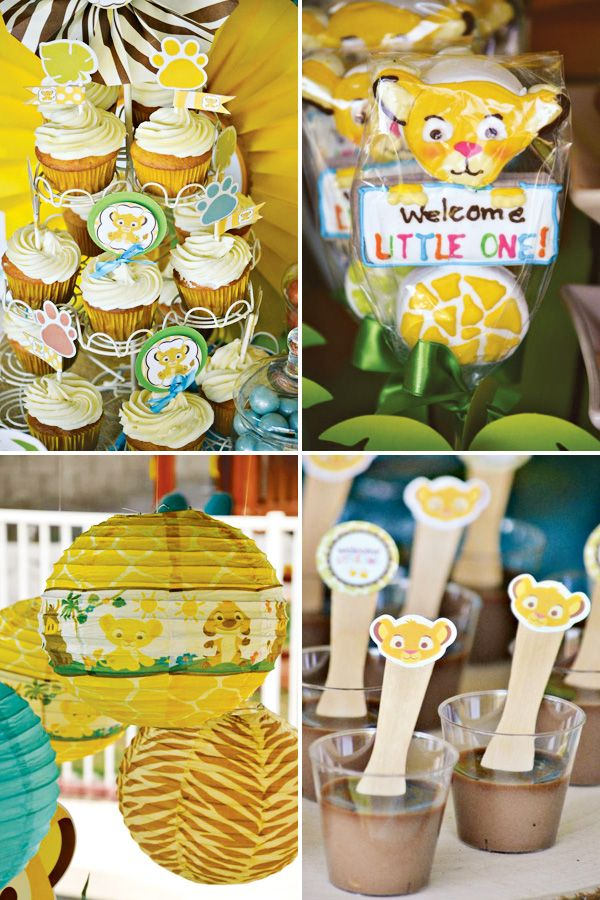 Safari Inspired Lion King Baby Shower