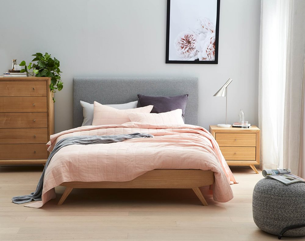 Zambia Bed Frame W Upholstered Bedhead Globe Glacier Bedroom Furniture Forty Win In 2020 Master Bedroom Furniture Bedroom Furniture Design Modern Bedroom Furniture