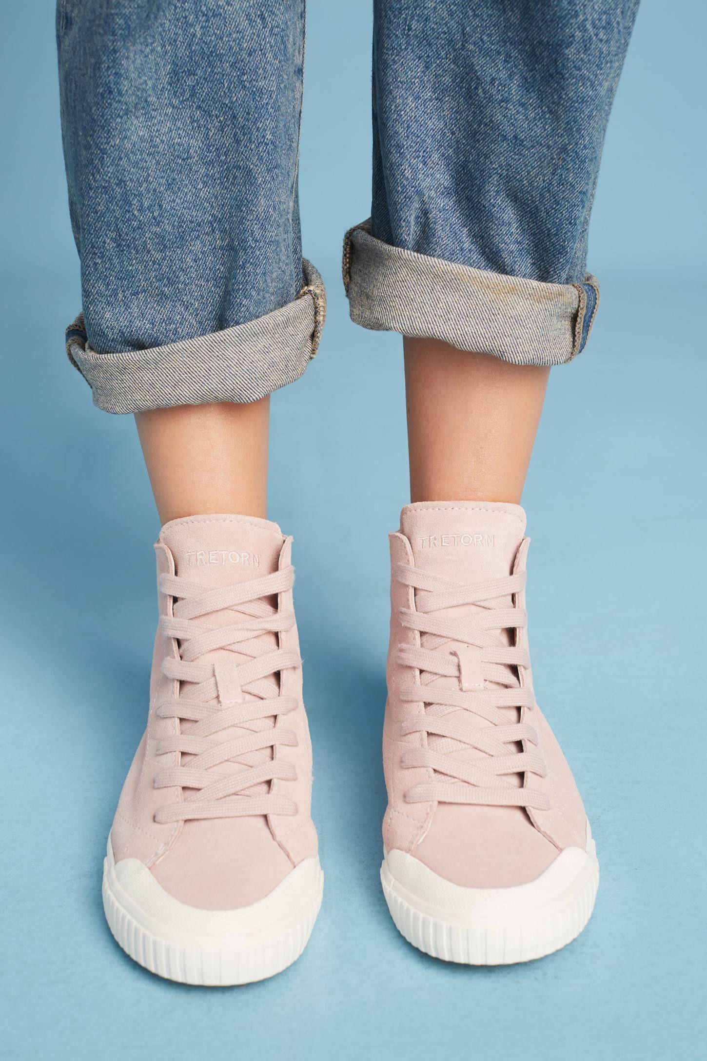 Tretorn Marley High-Top Sneakers | High