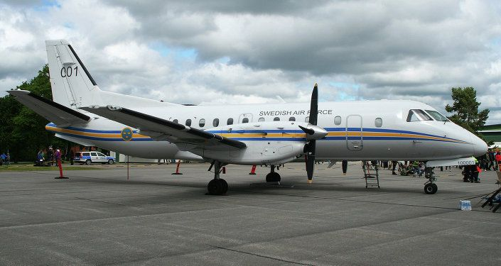 Canada Spain To Conduct Observation Flight Over Russia Under Open Skies Sweden Travel Open Sky Saab 340