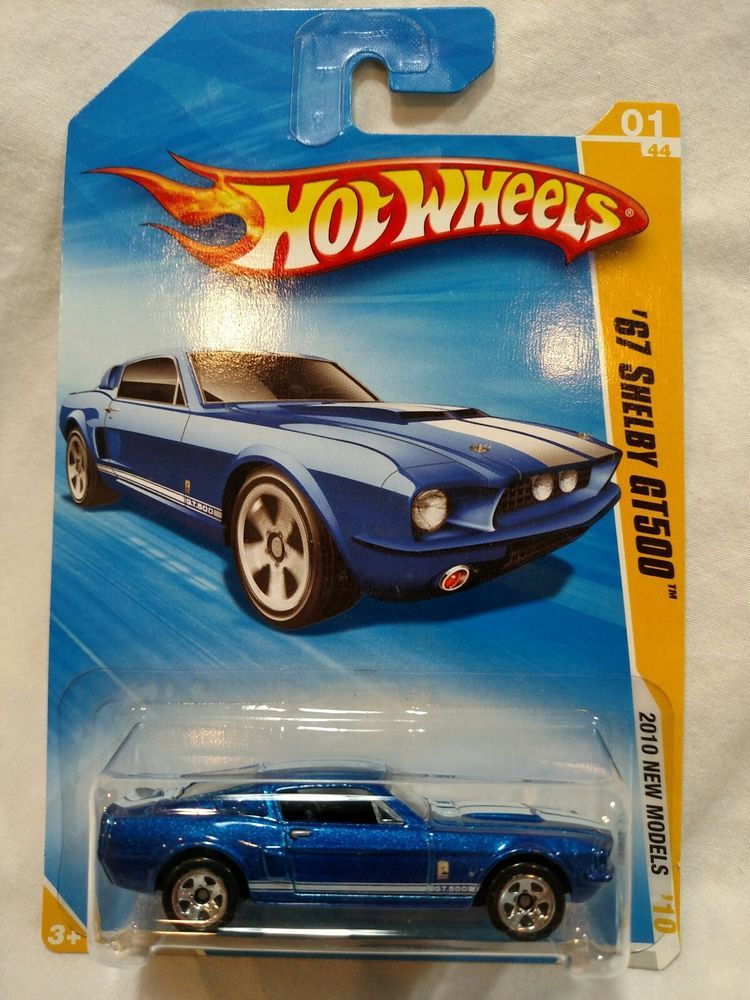 67 Shelby Gt 500 Mustang Blue 2010 New Models Hot Wheels 1 Hotwheels Ford Hot Wheels Mattel Hot Wheels Shelby Mustang Gt500