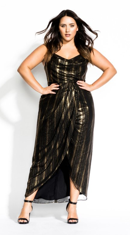 acde5ab0ed16e Glitter Lines Dress - Black in 2019 | Holiday Party Ready ...