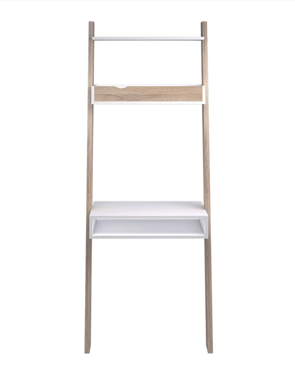 Schreibtisch Weiß Schmal 2021