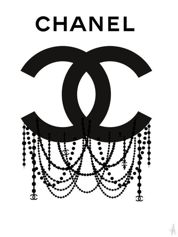 Chanel logo, Chanel poster, Chanel art, Chanel print
