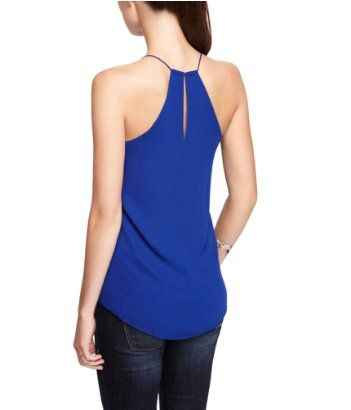 REVERSIBLE V-NECK RACERBACK CAMI | Express