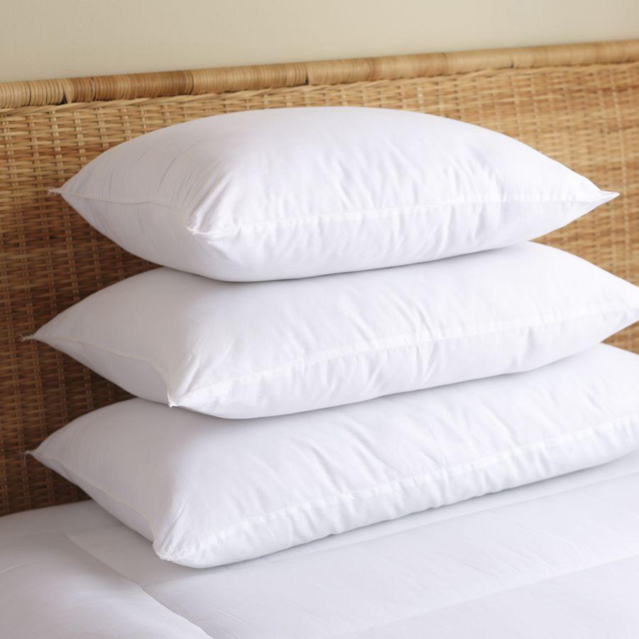 233t Cotton Pillows 1200g Microfiber Filling For Dubai Bed
