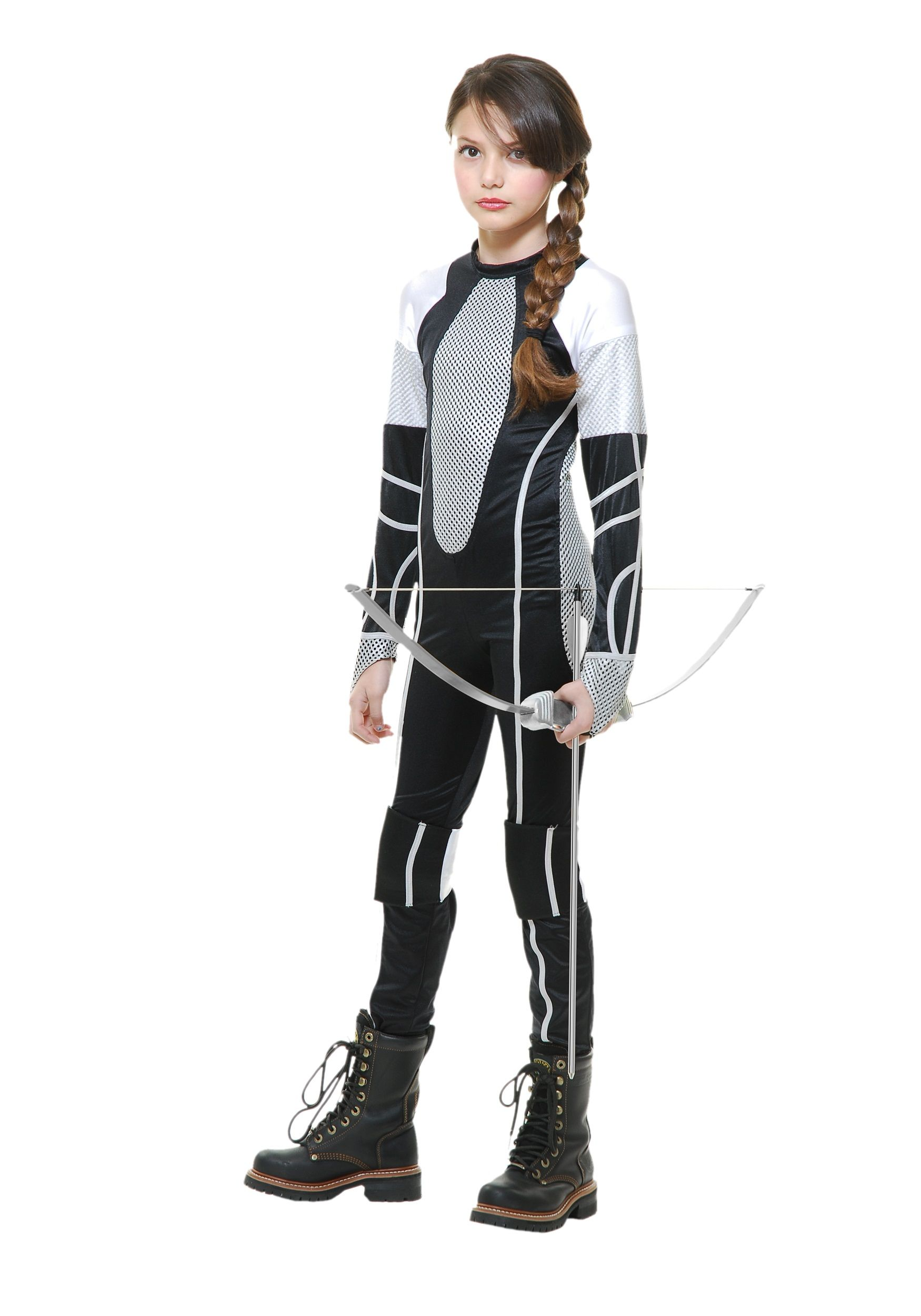 efd61dac Survivor Jumpsuit Girls Costume Katniss Everdeen Halloween Costume, Hunger  Games Costume, Abraham Lincoln Costume