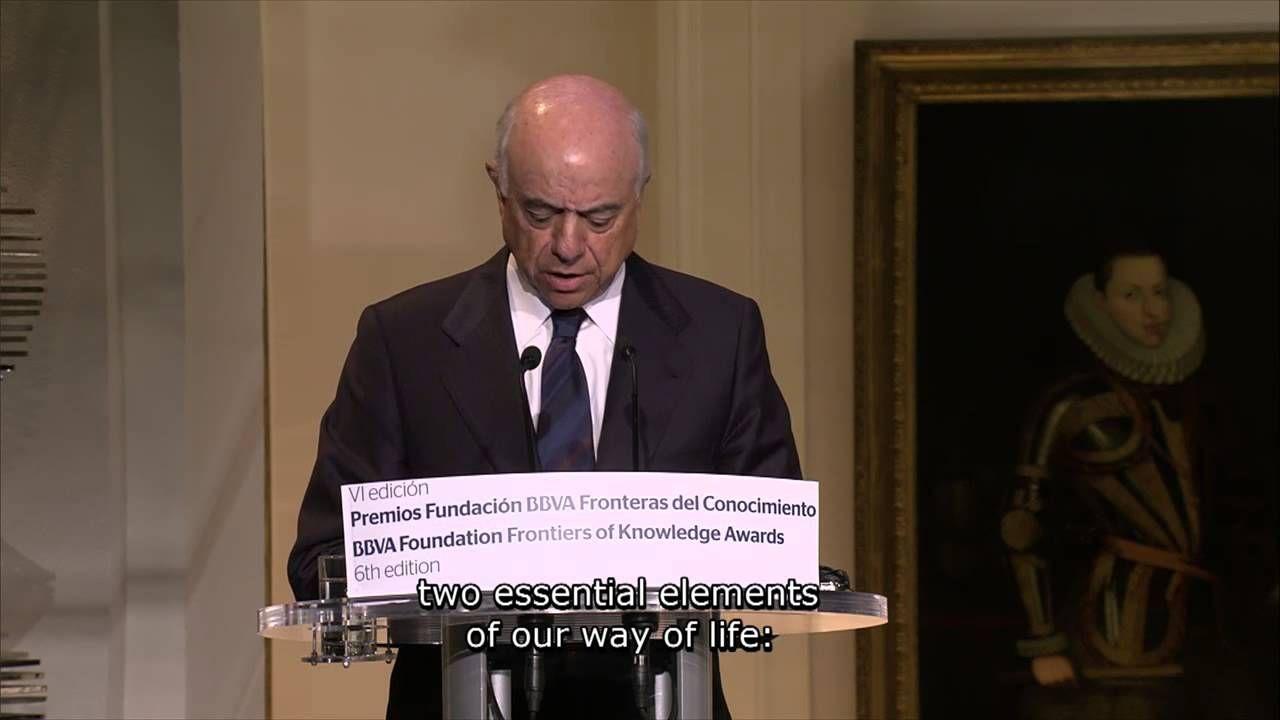 Discurso del presidente de la Fundación BBVA, Francisco González