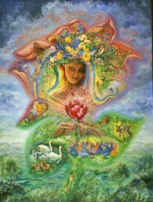 Timeline Photos The Official Josephine Wall Josephine Wall Wall Art Wallpaper Surrealism Painting