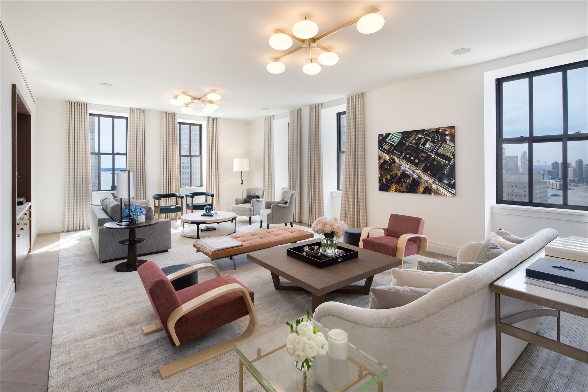 Photos Maps Description For 100 Barclay Street 15k New York Ny Search Homes For Sale Get School District And Home Condominium Interior White Oak Floors
