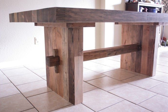 Knockoff West Elm Emmerson Dining Table Reclaimed Wood