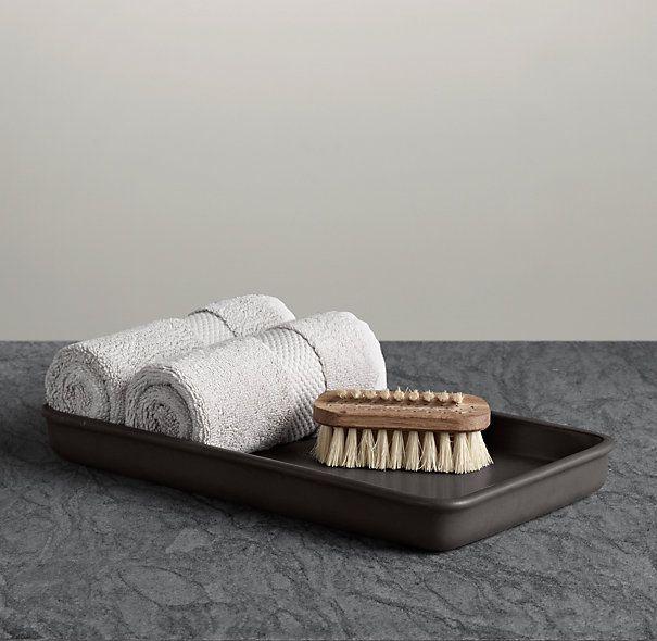 Flatiron Union Stoneware Tray Charcoal