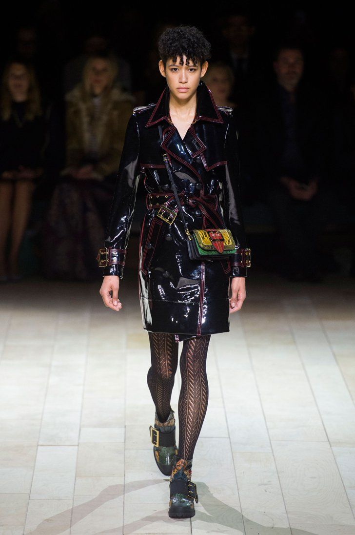 Pin for Later: Burberry Introduces You to Patchwork Britain Burberry Autumn/Winter 2016