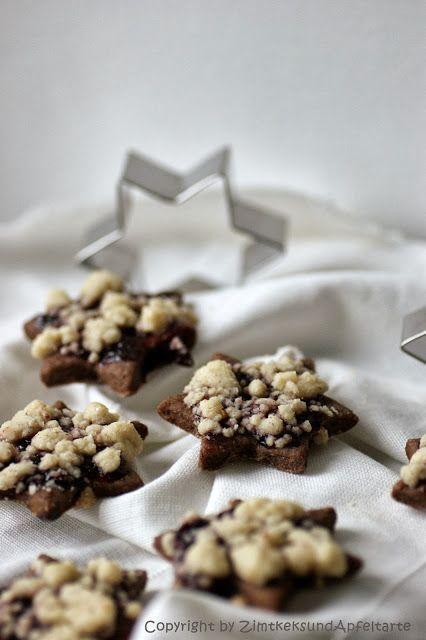Streuselsternchen - Schokoladig mit Streuseln ist die perfekte Kombination für weltbeste Plätzchen - super beliebt bei Groß und Klein und ganz einfaches Rezept!