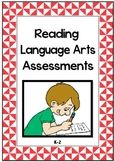 Assessment Package FULL YEAR 1st Grade Reading & Language