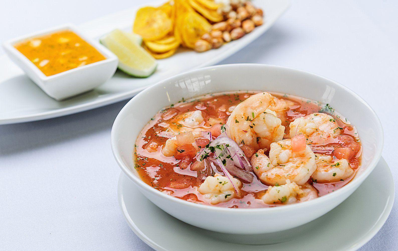 Love Shrimp? Try Chef Andrés Dávila's Excellent Ecuador-Style Ceviche    Ceviche, Recipes, Ecuadorian food