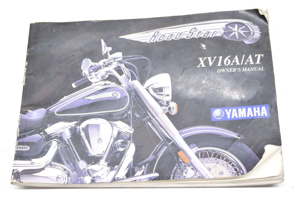 details about oem yamaha owner s manual road star xv16a rh pinterest com 1999 yamaha road star owners manual 2001 yamaha road star owners manual