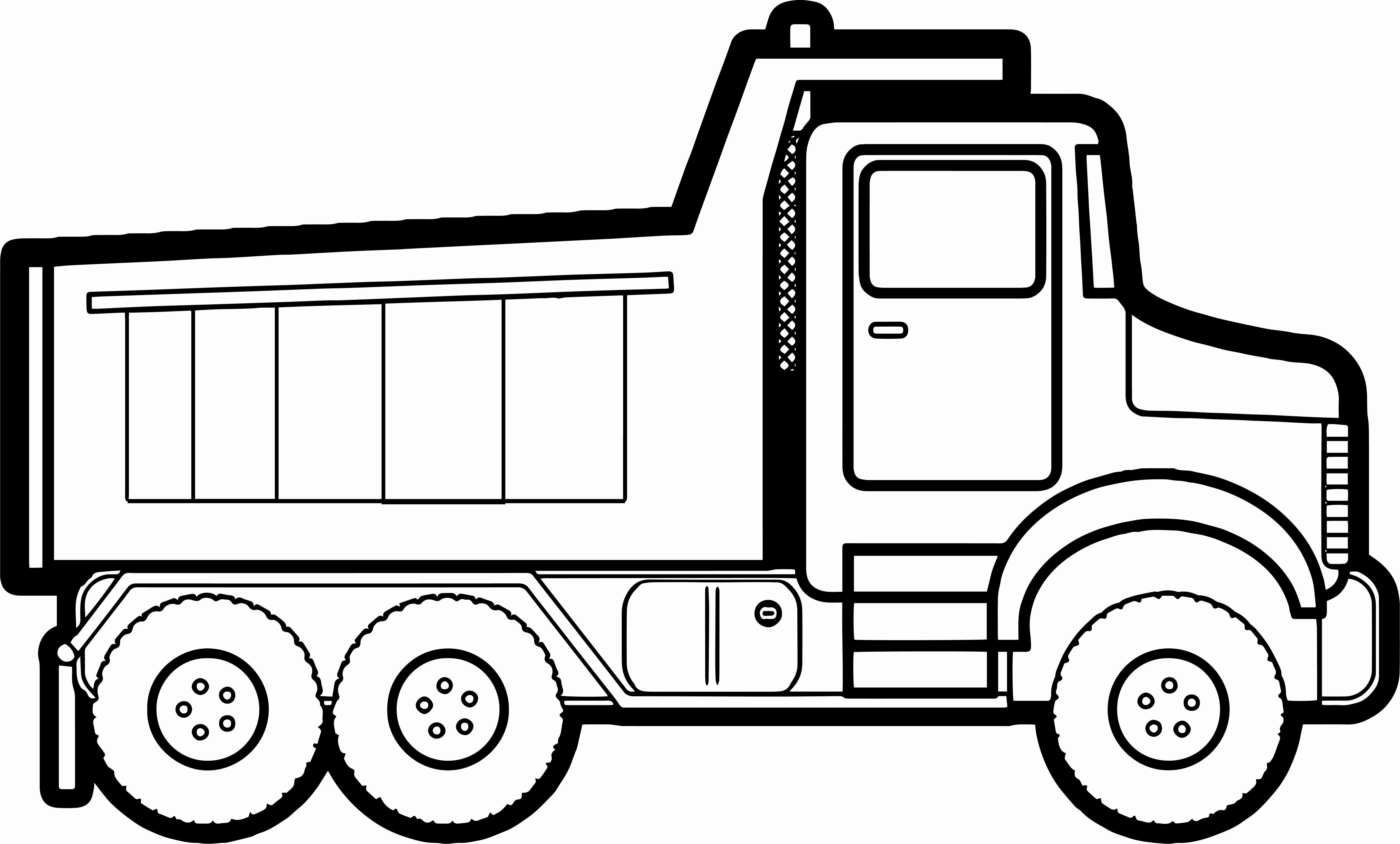 Road Transport Coloring Pages in 2020 | Monster truck coloring ...