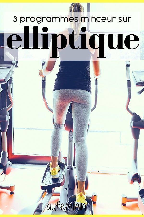 Elliptique : l'appareil fitness qui muscle tout le corps ! Comment s'en servir pour mincir ? On vous...