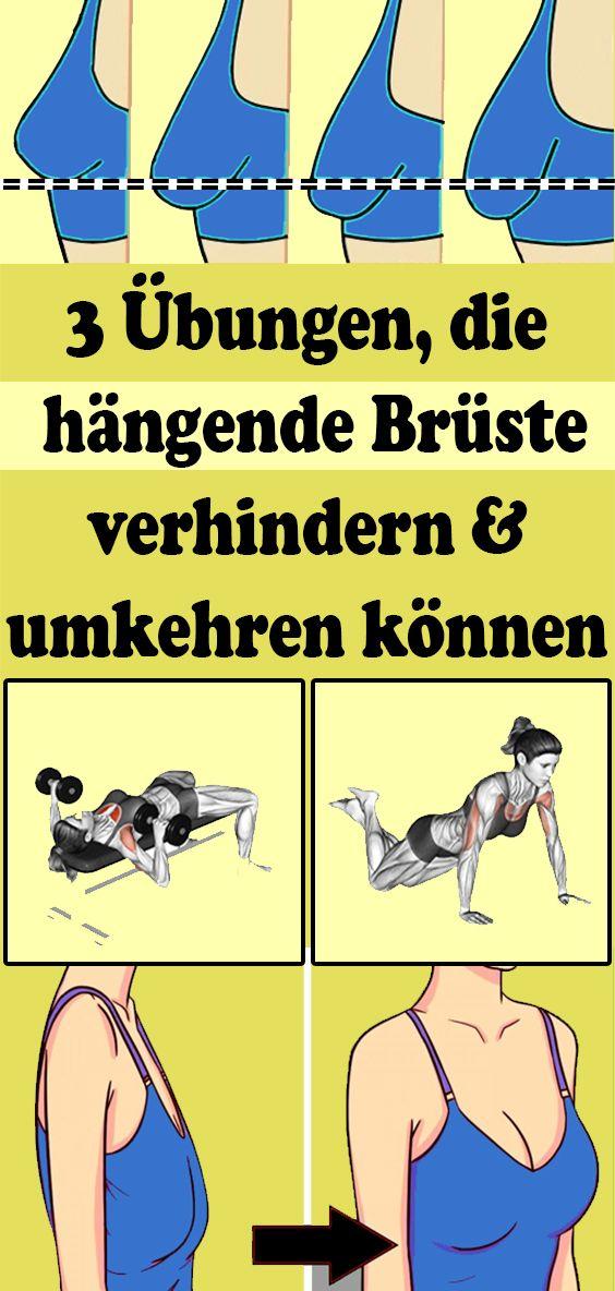 3 Übungen, die hängende Brüste verhindern und umkehren können