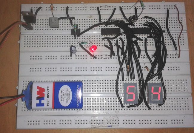 555 Timer Oscillator Electronic Circuits And Diagramelectronics