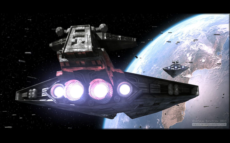 arrival of the exigence star wars wallpaper 1440x900 | 空想科學映画