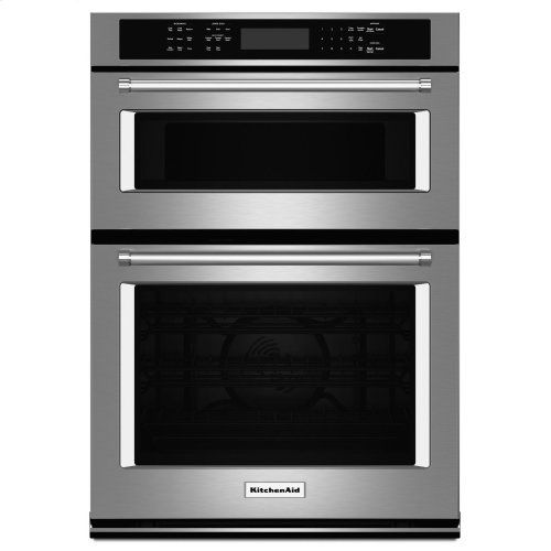 27 Quot Combination Wall Oven With Even Heat True Convection