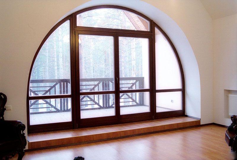 фото арочные окна