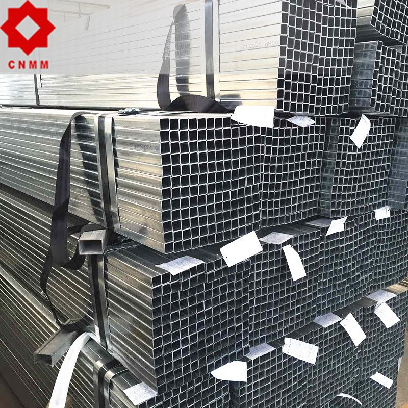 GALVANIZED MILD SQUARE IRON STRUCTURAL SECTION STEEL