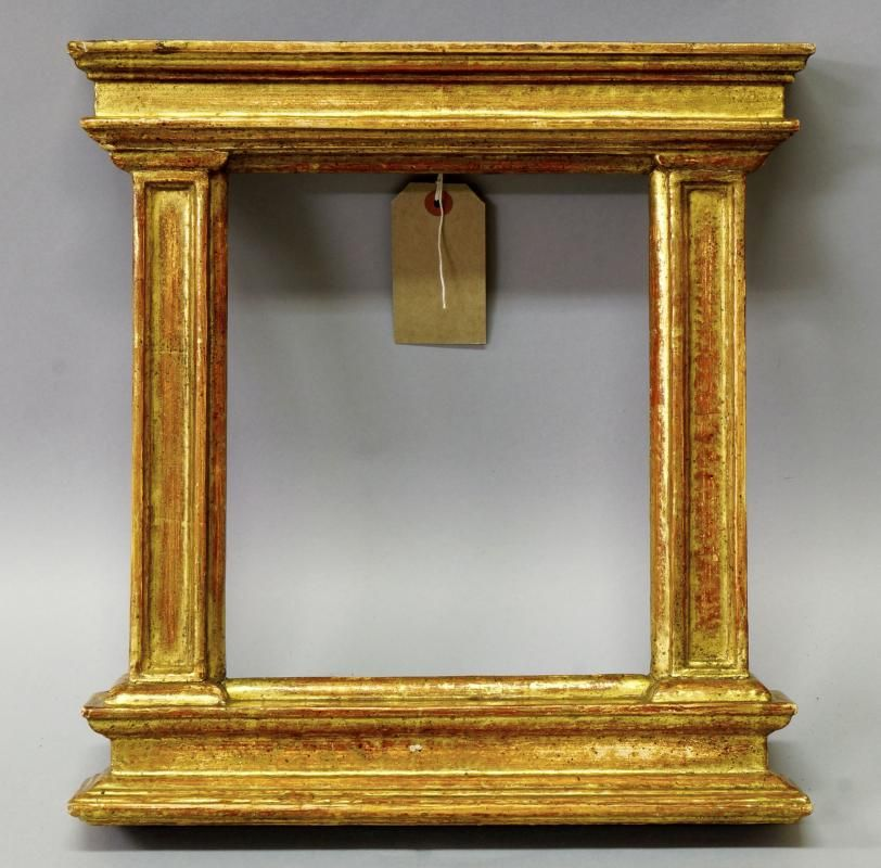 An Italian Carved and Gilded Tabernacle Frame, 19th century, with ...