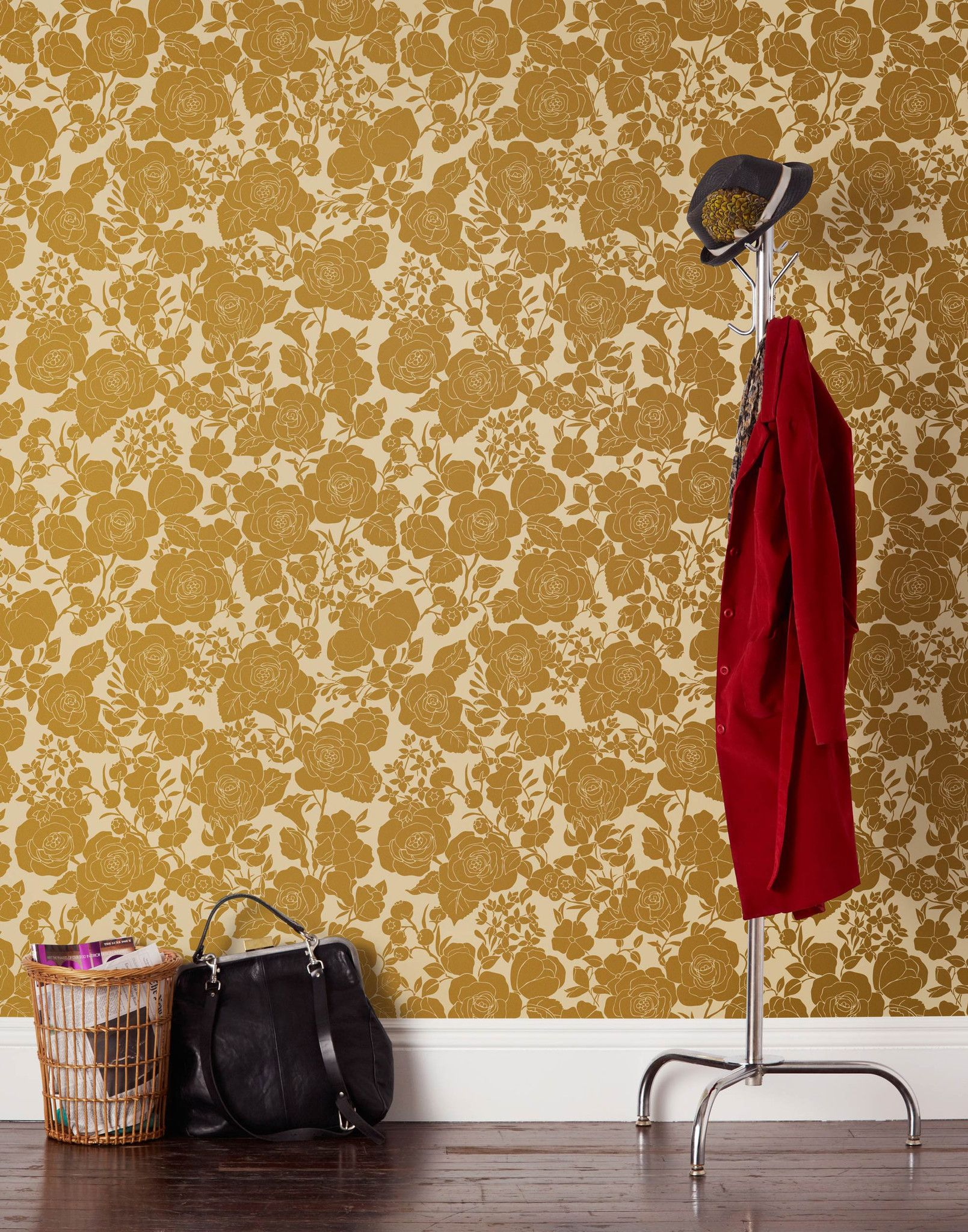 Garden (Cream/Gold) Wallpaper LetsCurate (With images