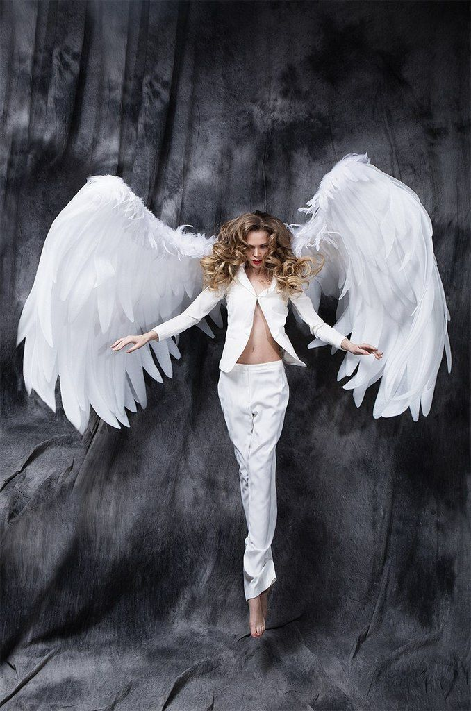 стен фотосессия в костюме ангела имеют характерную