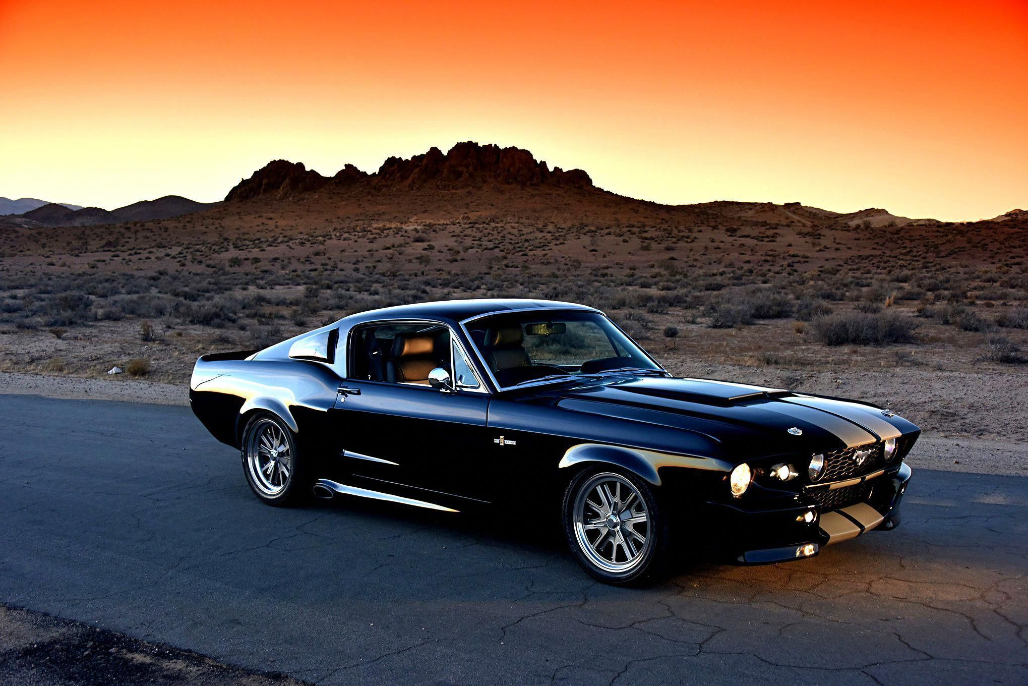 1967 Ford Mustang Shelby Gt500 Eleanor Mustangclassiccars