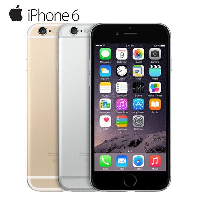"Original apple iphone 6 dual core ios handy 4,7 ""IPS 1 GB RAM 16/64/128 GB ROM 4G LTE Entsperrt Gebrauchte Zell telefon"