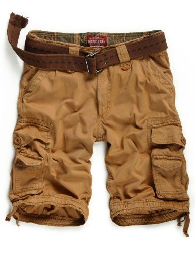 Match Mens Twill Cargo Shorts Quick-dry Summer Shorts S3612 (Label ...