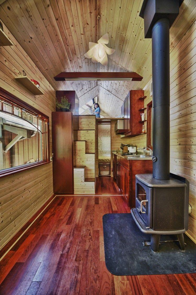 Petite maison bois en 18 idées d\'aménagement fonctionnel | Design ...