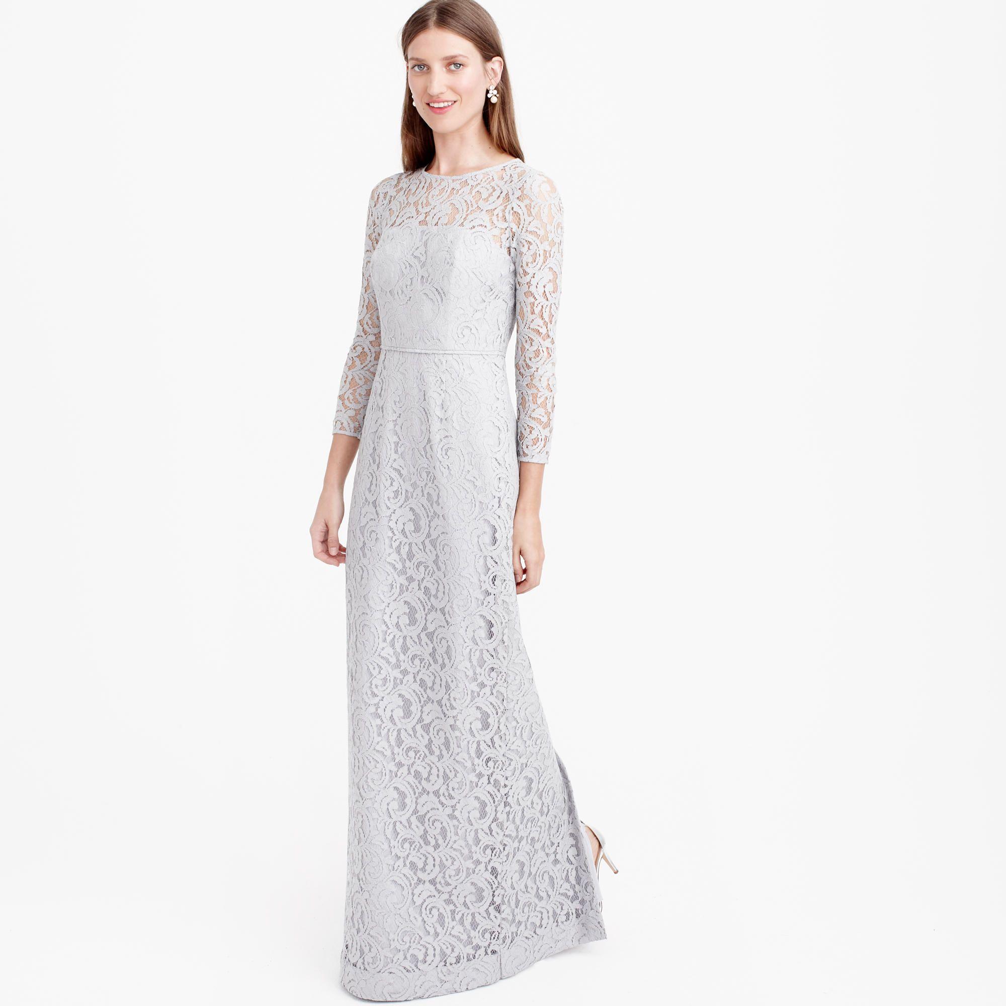298 jcrew maxi lace grey dream wedding pinterest 298 jcrew maxi lace grey ombrellifo Gallery